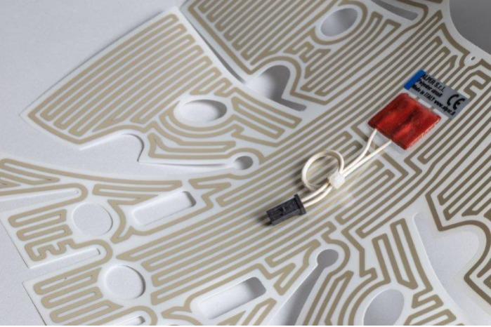 Circuiti flessibili in poliestere - ANTENNE AUTO SISTEMI ANTI INTRUSIONE E ANTI SCASSO SENSORI CAPACITIVI