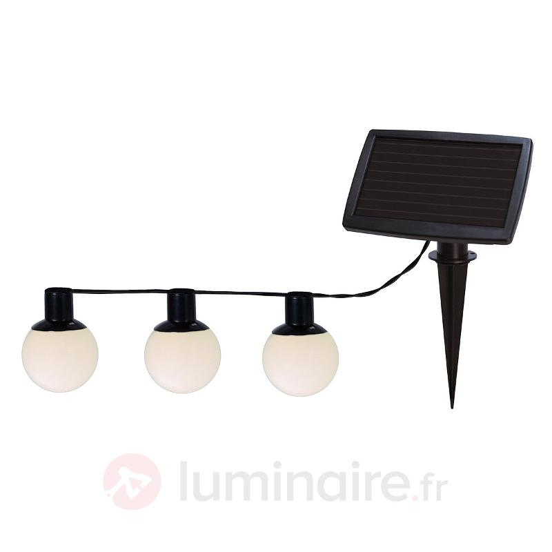 Guirlande lumineuse LED solaire Combo à 6 lampes - Lampes solaires décoratives