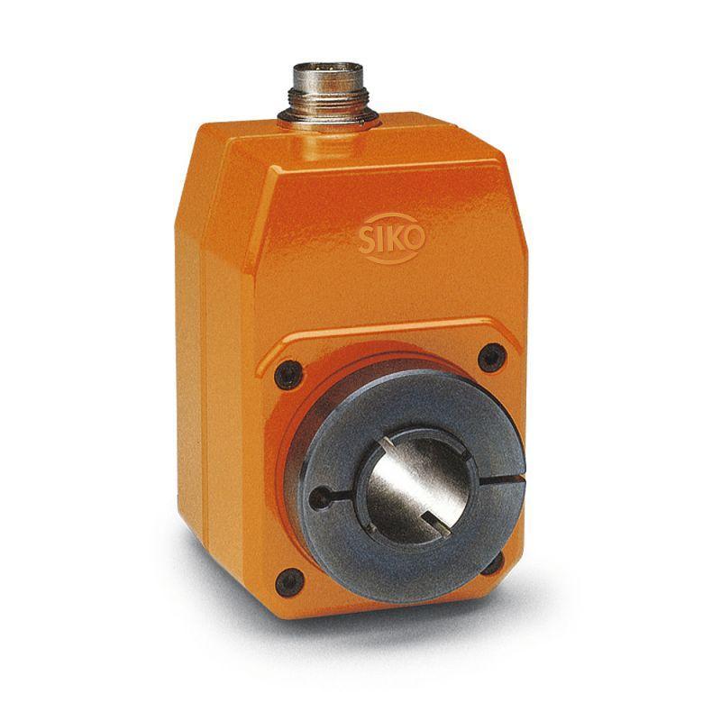 Trasduttore incrementale IG07 - Trasduttore incrementale IG07, Corpo in pressogetto di zinco con albero cavo