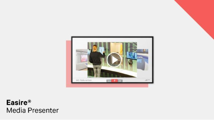 Easire® Interactive Media Presenter - Multitouch software