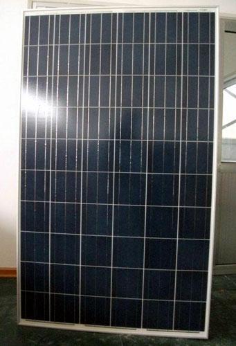 panneau solaire polycristallin / module 260w système de toit - énergie renouvelable