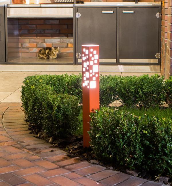 Уличный светильник Tower OC-700 - (orange - exterior lights - outdoor floor lamp)