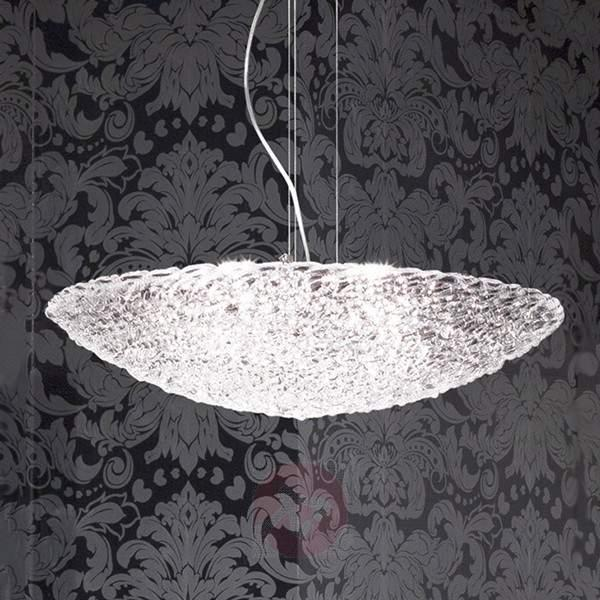 Brilliant Artic glass hanging light - Pendant Lighting