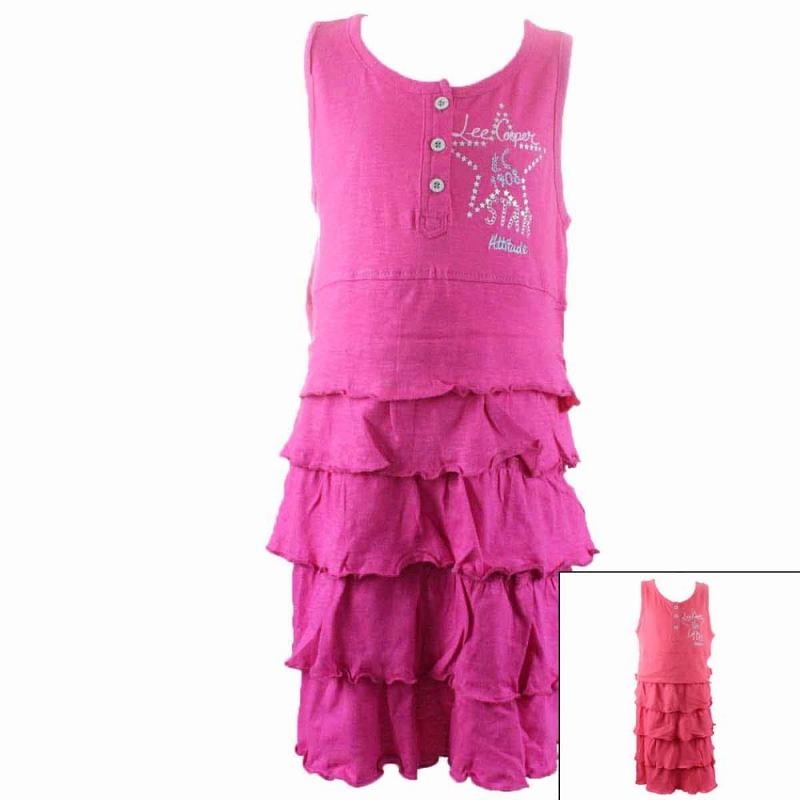 8x Robes Lee Cooper du 2 au 5 ans - Robe Jupe et short