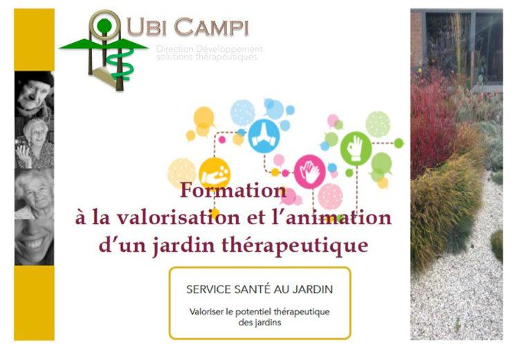 Formation jardins therapeutiques - Service
