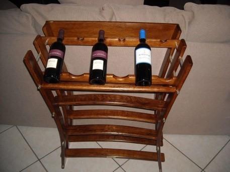 48 Bottle Display Wine Rack - null