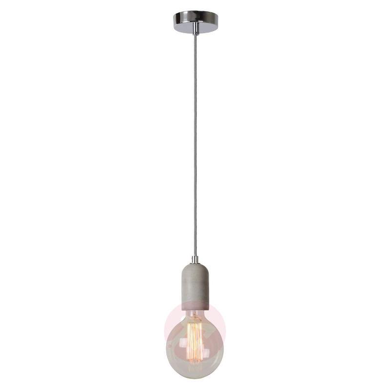Puristic Solo LED pendant light - Pendant Lighting