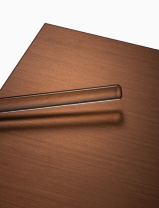 POHL Bronze - Messingbleche, geschliffenes, patiniertes, lackiertes oder gewachstes Material