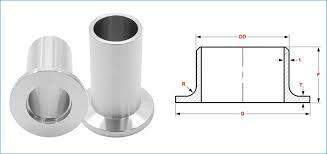 Stainless Steel 304/304L Long Stub End - Stainless Steel 304/304L Long Stub End