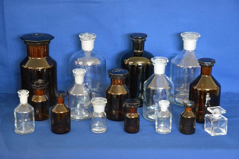 Flacons cosmétique en verre