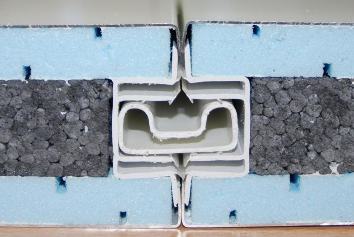 Phonic three-layer Panel - Conservatory NOVATOIT® ACOUSTIC