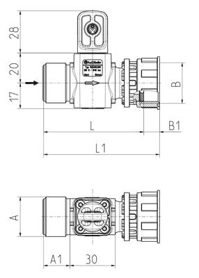 Shut-off valve - 52.009.200