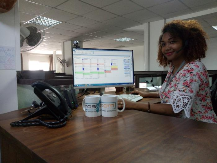 Mise à disposition de TELECRETAIRES à MADAGASCAR - NOSYCOM est le partenaire des permanences téléphoniques