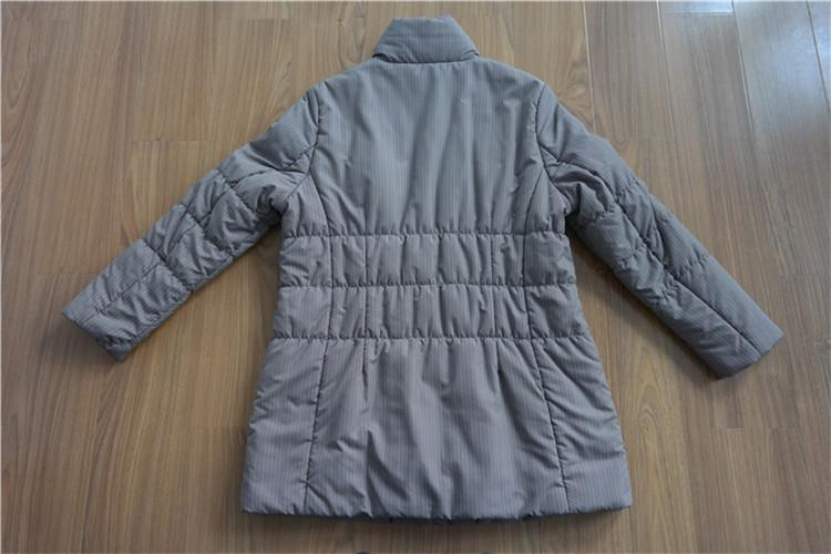 Women's medium quilting cotton coat YH16-12-W - YH16-12-W