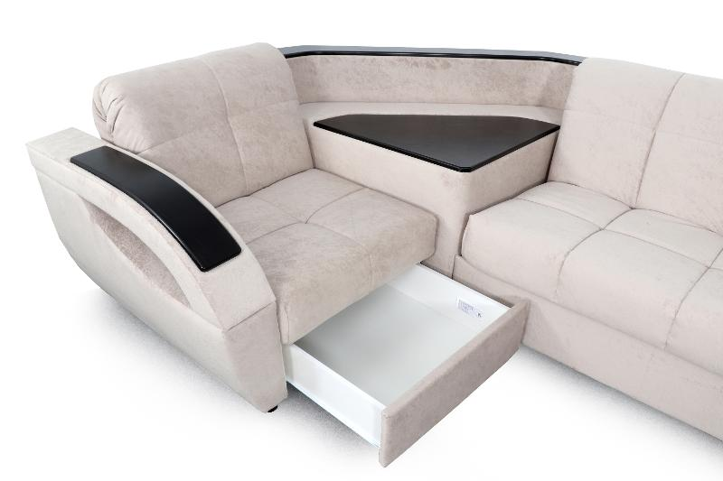 "Corner Sofa ""Bridge"" Standard Option 2 - Upholstered furniture in Moscow"