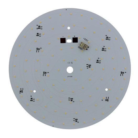 LED-Platine Rund 190 mm 10 W für Kleinspannung - Artikelnummer: 810366 Runde LED-Platine mit Aluminiumkern, für Kleinspannung
