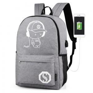 Fashion Unisex Backpack Bag - Bags