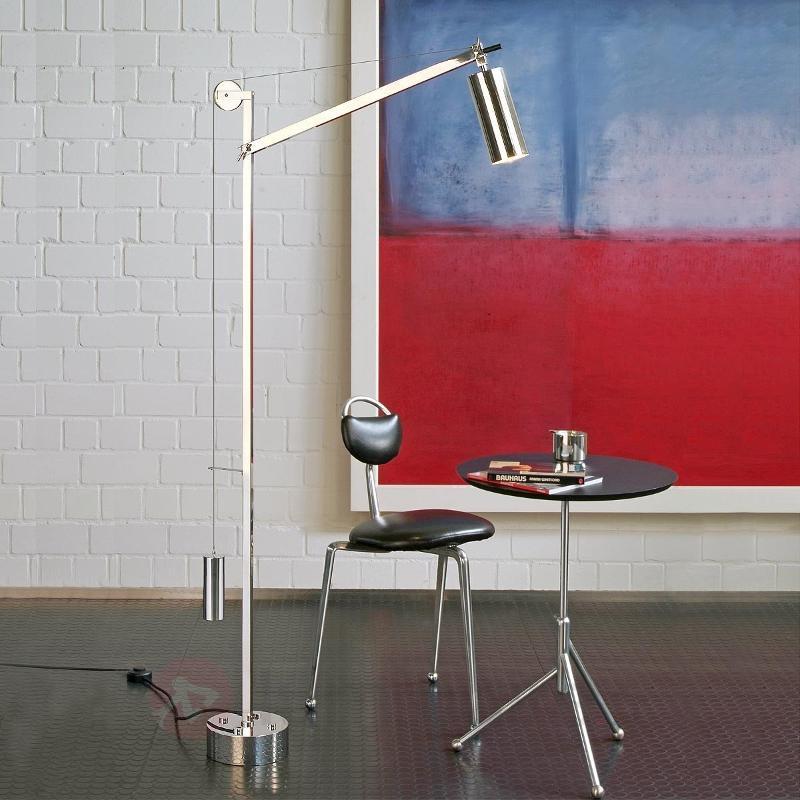Lampadaire stylé Bauhaus à contrepoids - Lampadaires design