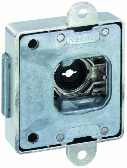 Interchangable cylinder core system - Dead lock