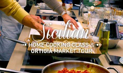 Siracusa Home Cooking Class with Ortigia Market Tour -