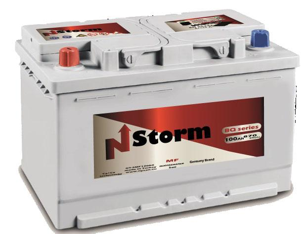 N-STORM BATTERY - High quality TRUCK BATTERY 12V-100AH