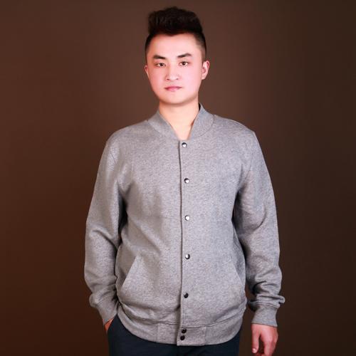 long sleeve printing baseball mens jacket sweatshirts - Anti-Pilling, Anti-Shrink, Anti-Wrinkle, Breathable, Eco-Friendly, Plus Size