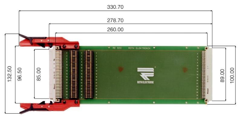 "RE920C64/1LF - Extender Cards 19"""