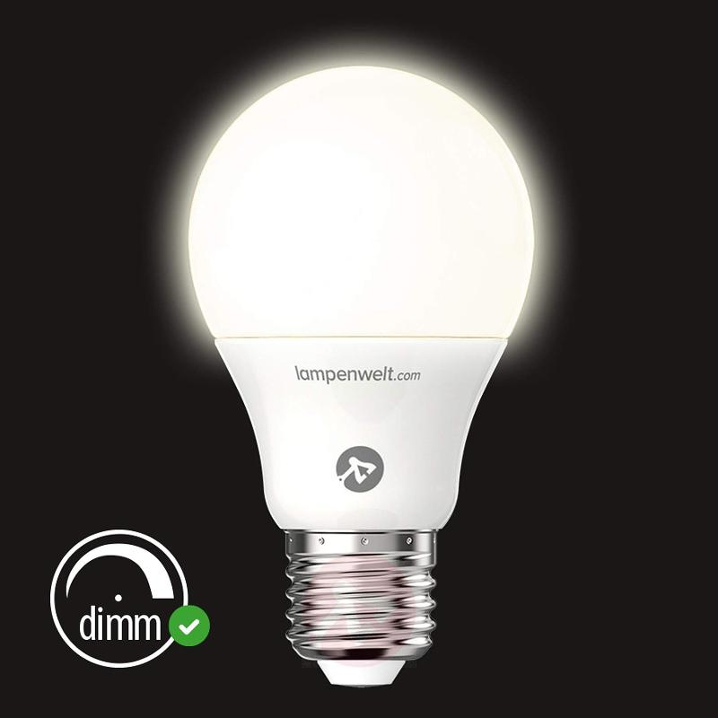 E27 8.6 W 927 LED lamp, matt - light-bulbs