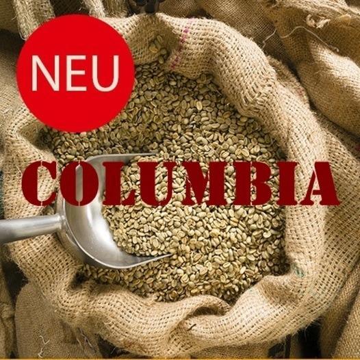 Rohkaffee Columbia - Rohkaffee, Kaffeebohnen zum selber rösten, Sorte: Columbia