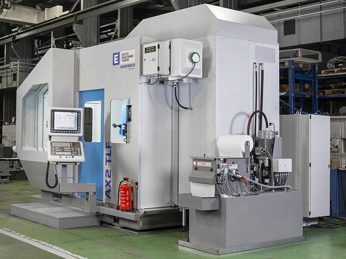 Tieflochbohr-Fräsmaschine AUERBACH AX2 TLF -