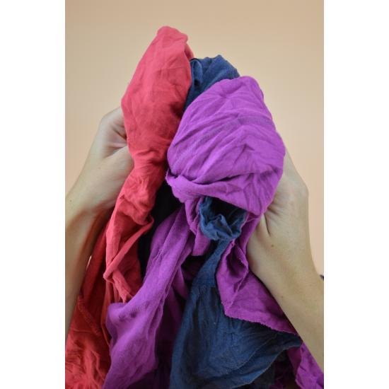 Chiffon jersey couleur tee-shirt coton carton 10kg... - Essuyage