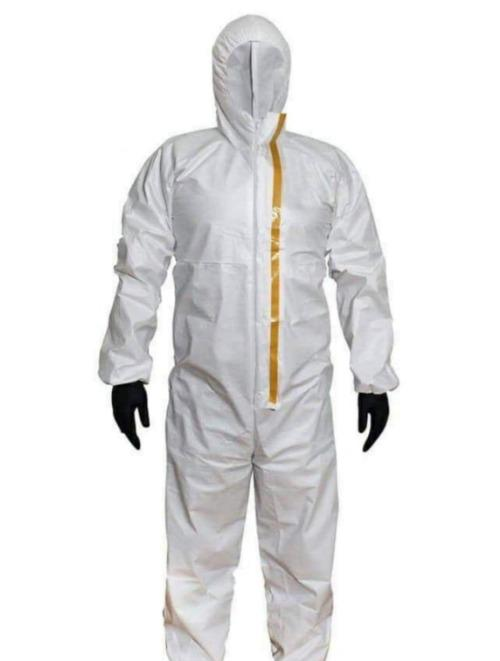Surgical Overall - Type 5 6 Overalls , Disposable Microporous Coveralls EN 14126