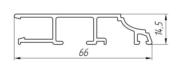 Aluminum Sump Profile Ат-6406 - Construction aluminum profile