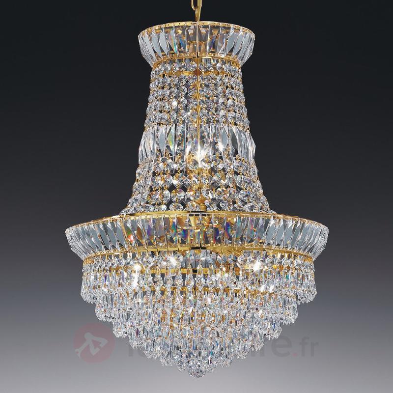 Lustre scintillant New Orleans 40 cm - Lustres en cristal