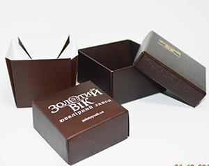 картонная упаковка для ювелирных украшений или бижутерии
