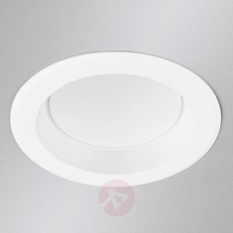 LED recessed spotlight Arian in white, 11.3 cm, 9W - Recessed Spotlights