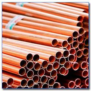 Copper welded pipes and Tubes - Copper welded pipes and Tubes stockist, supplier and exporter