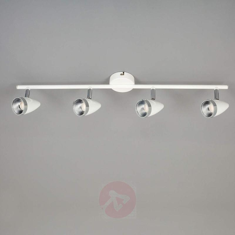 Flexible 4-bulb LED ceiling spotlight Adea - Ceiling Lights