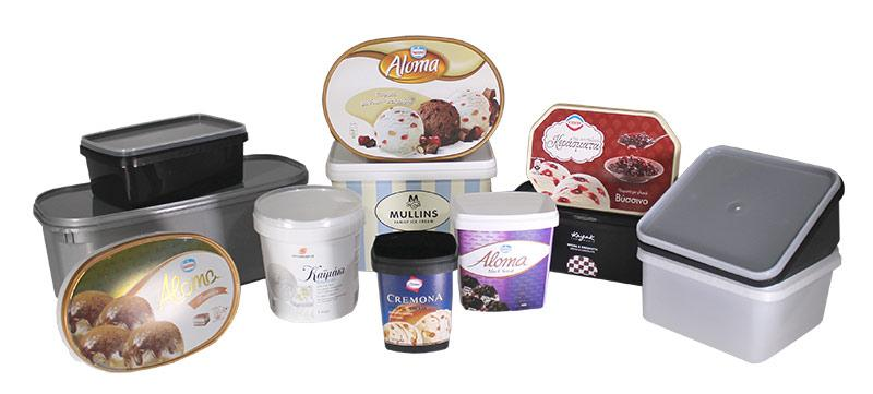 Ice Cream - Cones, Sticks, Tubs, Enrobed, Extruded Shapes, Cakes