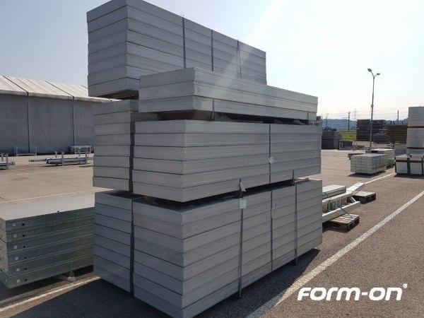 Wall formwork used