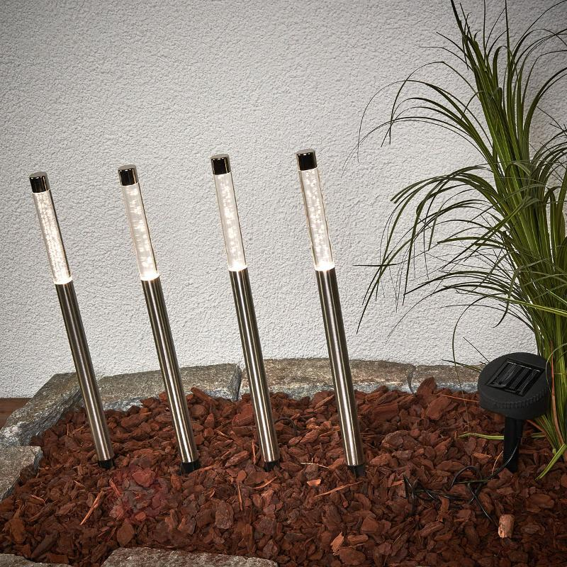 Set de 4 lampes solaires LED Felia - Toutes les lampes solaires