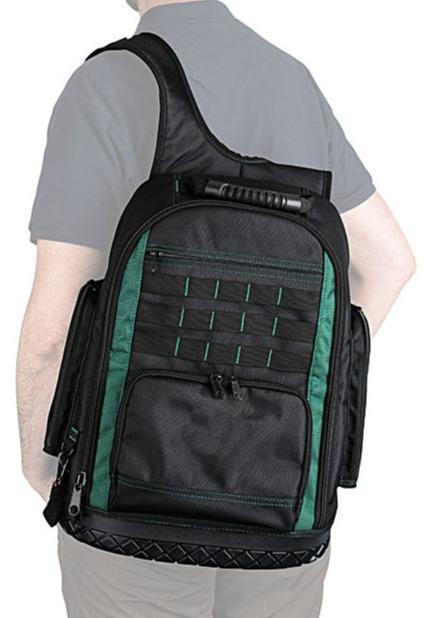Werkzeugrucksack mit festem Boden - 1600D Polyester