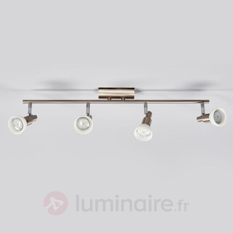 Plafonnier long Fiona LED GU10 - Spots et projecteurs LED