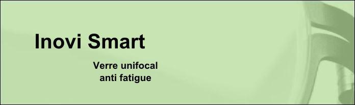 Verres unifocaux - Inovi Smart