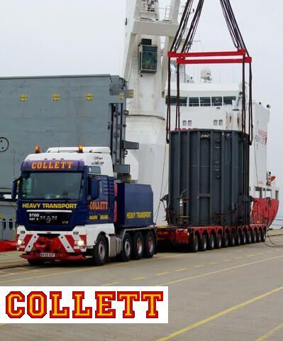 Port operation - Heavy lift port operation
