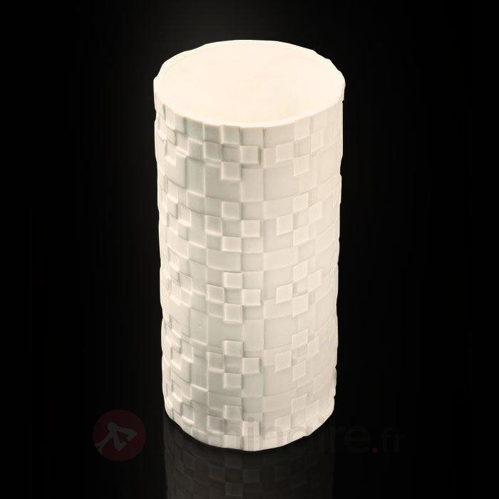 Lampe à poser en porcelaine Bone China Nippo - Lampes à poser designs