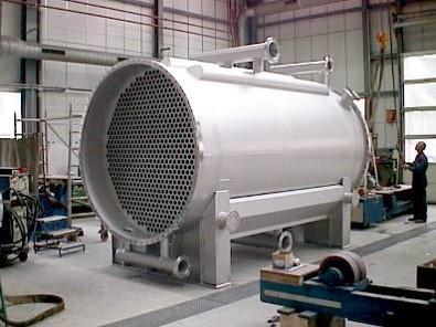 Heat exchanger, evaporator, condenser - Tube bundle heat exchanger, double-pipe heat exchanger and spiral pipe heat exch