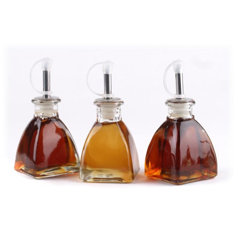 24 Mini bouteilles 200 ml Licorera Pyramide, bouchon liège - Mini Bouteilles, Mini flacons