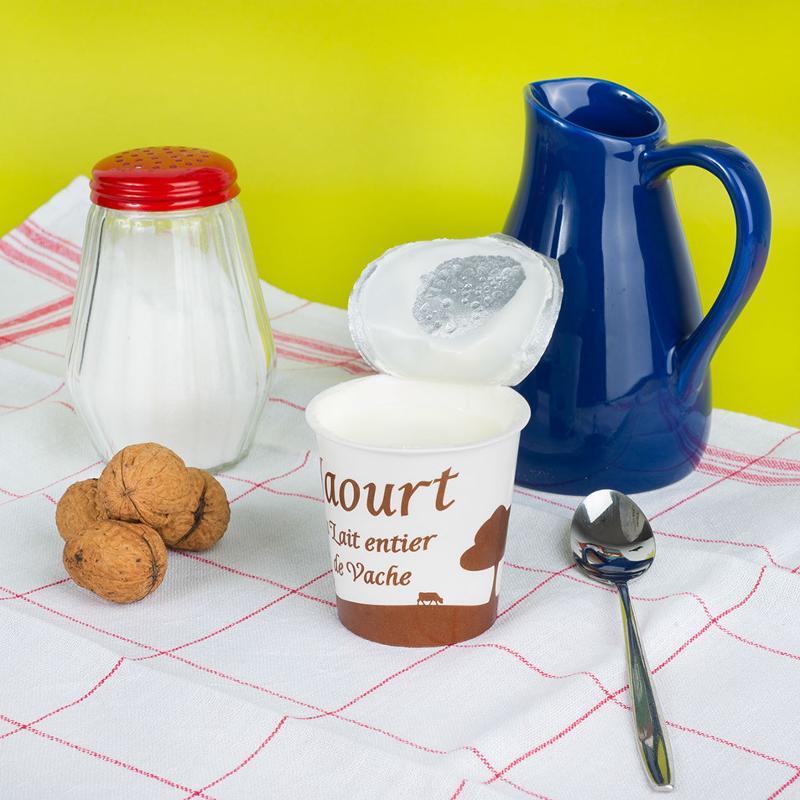 Yaourt brassé nature 4x125G - Produits laitiers