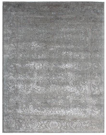 Tapis moderne en soie